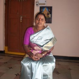 Lakshamamma headed a village self-help group where women took loans. Now she is mayor of her village of Cherlapatelguda.