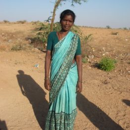 Sugunamma leads a farm improvement group.
