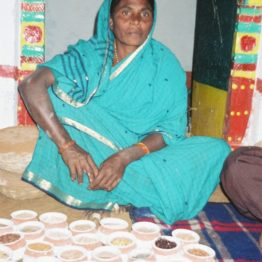 Seedkeeper Anjamma made the deserts bloom by taking microcredit loans for organic farming. She belongs to the Deccan Development Society (DDS) with 5,000 Dalit (untouchable caste) women.