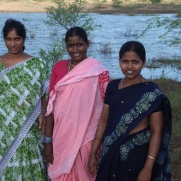 Gram cooperatives composed mostly of Dalit women took a lease to run a municipal sand pit and made money.