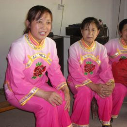Women from a self-help group want loans to start a kindergarten and old people's home.