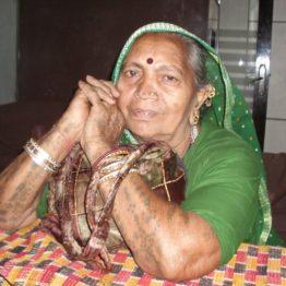 Vegetable vendor Rajiben collected money so SEWA women could start their own bank.