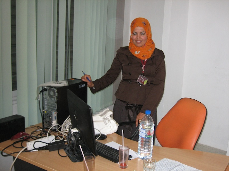 "During the revolution, some clients faced enormous problems, but we didn't abandon them,"" says Essia Nciri, who runs Enda Inter-Arabe Microfinnce's branch in Sidi Bouzid, Tunisia, birthplace of the Arab Spring"